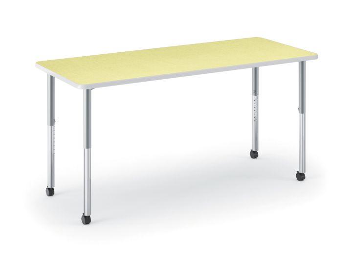 HON Build Rectangle Table Kiwi HETR-3060E-4L.N.LKW1.K.T1