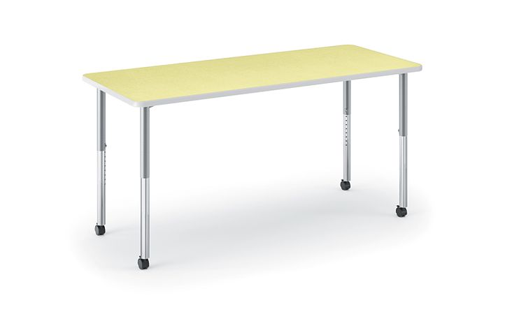 HON Build Rectangle Table Kiwi HETR-3060E-4L.N.LKW1.K.T1