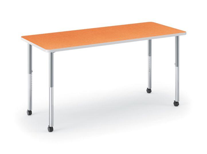 HON Build Rectangle Table Tangerine HETR-3060E-4L.N.LTG1.K.T1