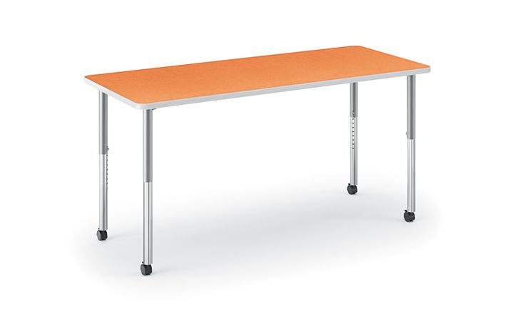 HON Build Rectangle Table Tangerine HETR-3060E-4L.N.LTG1.K.T1