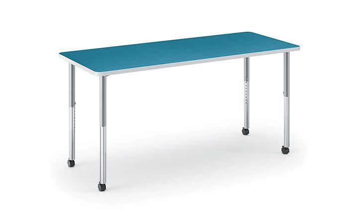 HON Build Rectangle Table Blue Agave HETR-3072E-4L.N.LBA1.K.T1