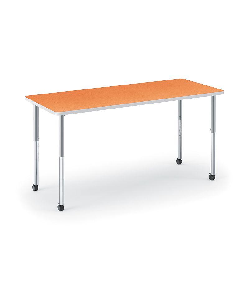 HON Build Rectangle Table Tangerine HETR-3072E-4L.N.LTG1.K.T1