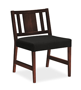Wood Panel Back Guest Chair