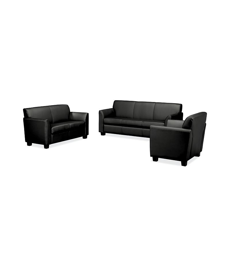 Fine Circulate Club Chair Loveseat And Sofa Set Hvl87Set Hon Home Interior And Landscaping Ologienasavecom