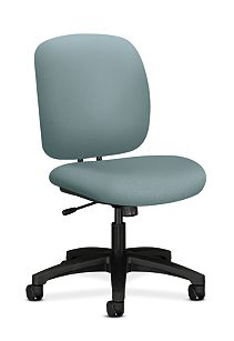 HON ComforTask Task Chair Inertia Surf Armless Front Side View H5902.H.NR96.T