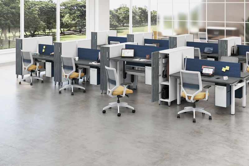 HON Contain Storage in Open Space Workspace