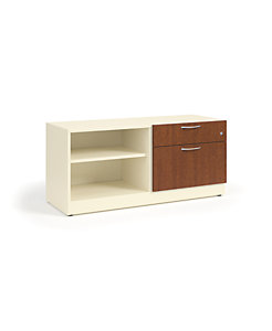"HON Contain 48""W Right-hand Combo Credenza White HSCBX224818RBFOMA"