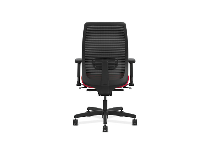 HON Endorse Collection Mesh Mid-Back Task Chair Red Back View HLWM.W5.V.H.IM.PNS010.SB.N
