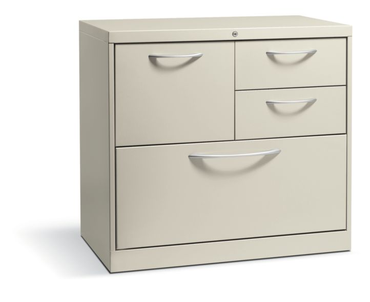 HON Flagship File Center Beige Front Side View HFC18730A.L.Q