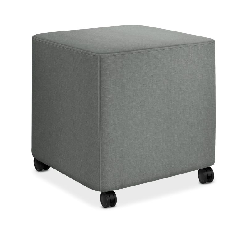 HON Flock Square Mini Appoint Seating Platinum Color HFLCO1.H.PNS004
