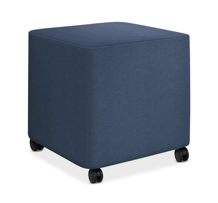 HON Flock Square Mini Appoint Seating Jet Color HFLCO1.H.PNS007