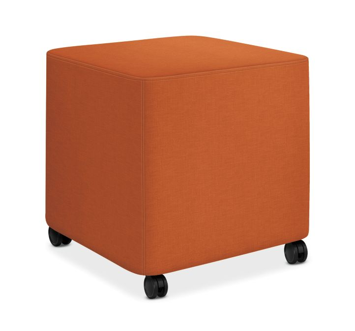 HON Flock Square Mini Appoint Seating Mandarin Color HFLCO1.H.PNS009
