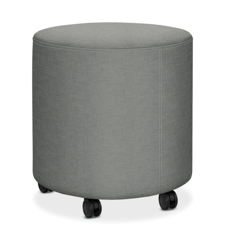 HON Flock Round Mini Appoint Seating Platinum Color HFLYO1.H.PNS004
