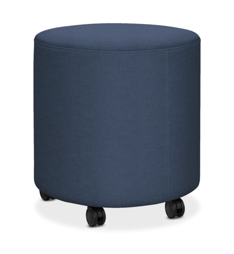 HON Flock Round Mini Appoint Seating Jet Color HFLYO1.H.PNS007