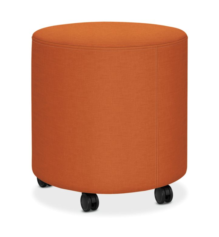 HON Flock Round Mini Appoint Seating Mandarin Color HFLYO1.H.PNS009