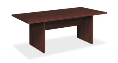 Foundation Conference Table Rectangle Panel Base W HLMCR - Hon table legs