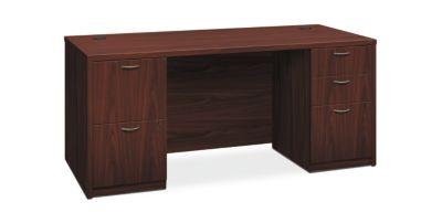 Foundation 66 Laminate Desk With 2 Peds Hlmpp3066 Hon Office