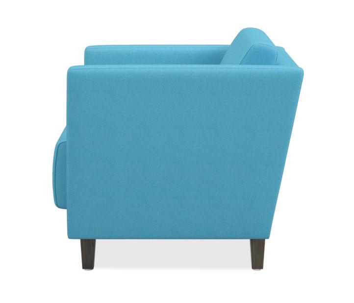HON Grove Lounge Chair Light Blue Straight Arms Side View HML1S.A.SMOMVOX83.TS.PINC