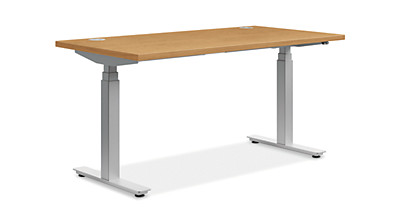 height adjustable base 24x72 table top base model hhat3060