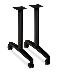HON Huddle Table Base Kit Legs Black HMBTLEG24.C.P