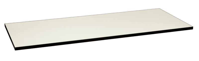 HON Huddle Table Top White Front Side View HMT3072G.N.B9.P