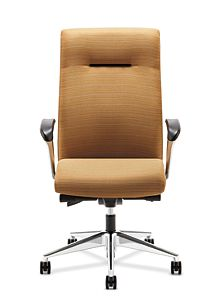 HON Ignition Executive High-Back Chair Front View HIEH2.P.H.RI26.T.PA