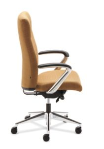 HON Ignition Executive High Back Chair Side View HIEH2.P.H.RI26.T.PA