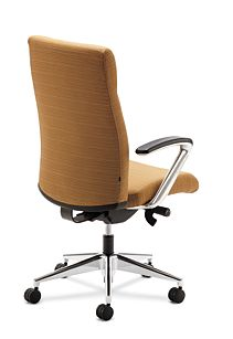 HON Ignition Executive High Back Chair Back Side View HIEH2.P.H.RI26.T.PA