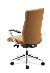 HON Ignition Executive High-Back Chair Back Side View HIEH2.P.H.RI26.T.PA