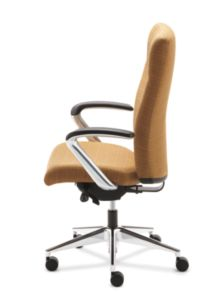 HON Ignition Executive High-Back Chair Side View HIEH2.P.H.RI26.T.PA