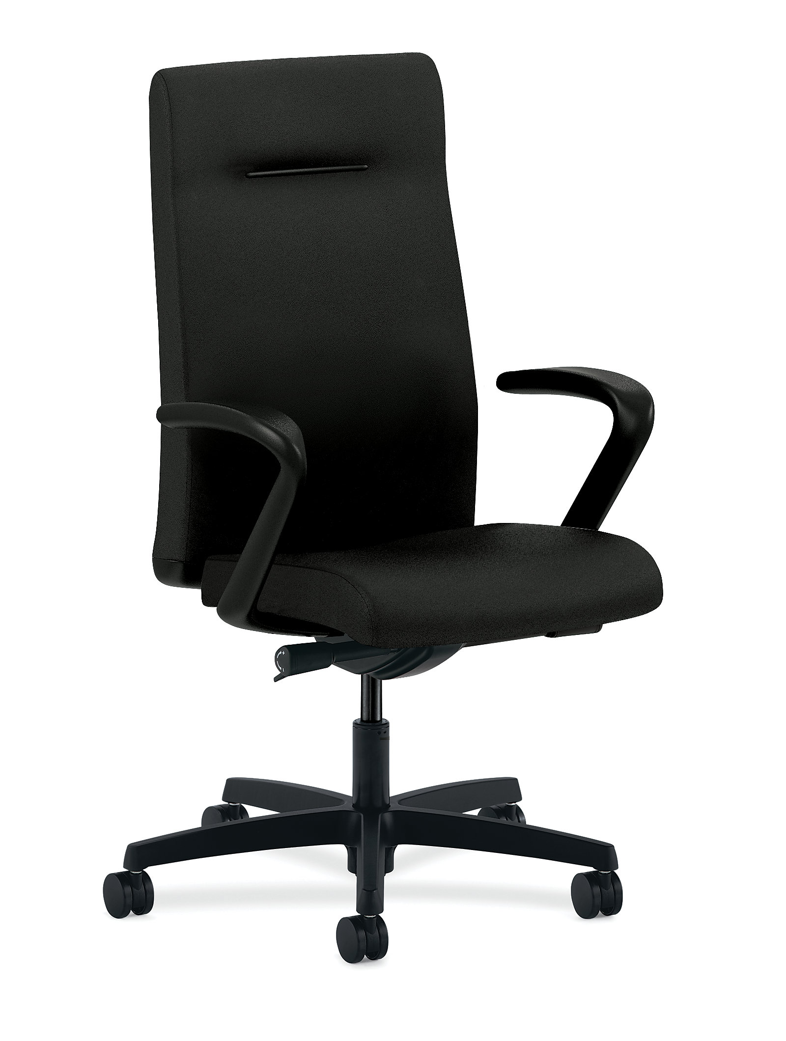 chairs black view angle furniture product office chair rentals conference stackable