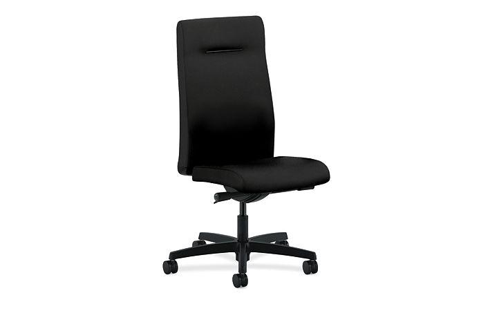HON Ignition HON Ignition Black Armless Executive High-Back Chair HIEH3.N.H.U.CU10.T