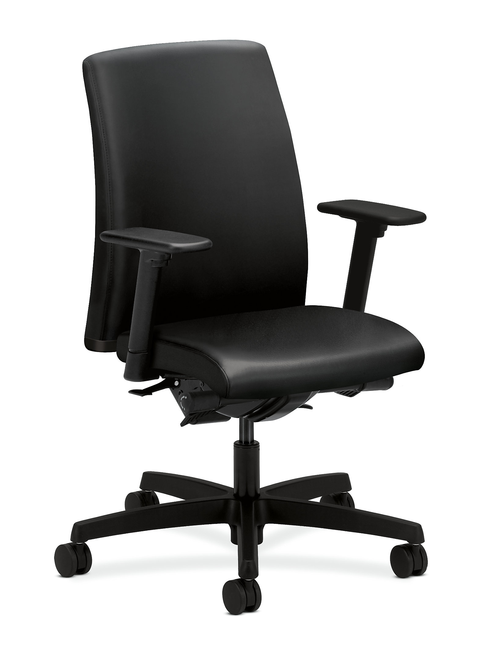 chairs back view product hon mid office ignition ergonomic chair nucleus shop task