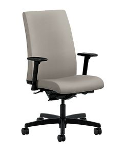 HON Ignition Mid-Back Task Chair Inertia Shadow Color Adjustable Arms Front Side View HIWM3.A.H.U.NR20.T.SB