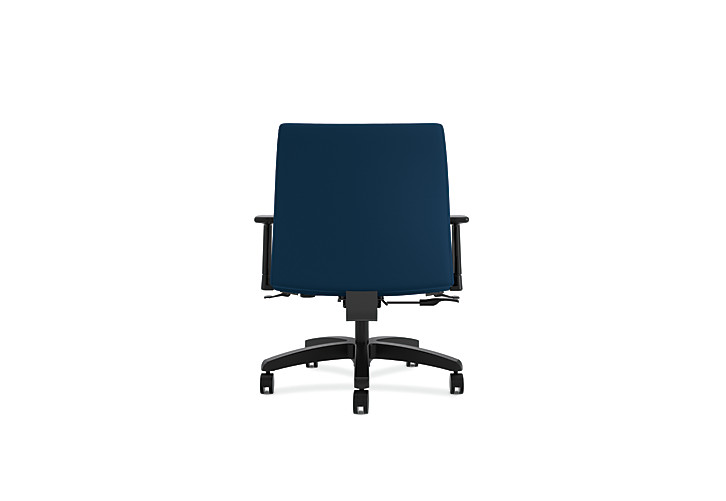HON Ignition Big & Tall Task Chair Tectonic Mariner Adjustable Arms Back View HIWM8.A.A.U.NT90.T.SB