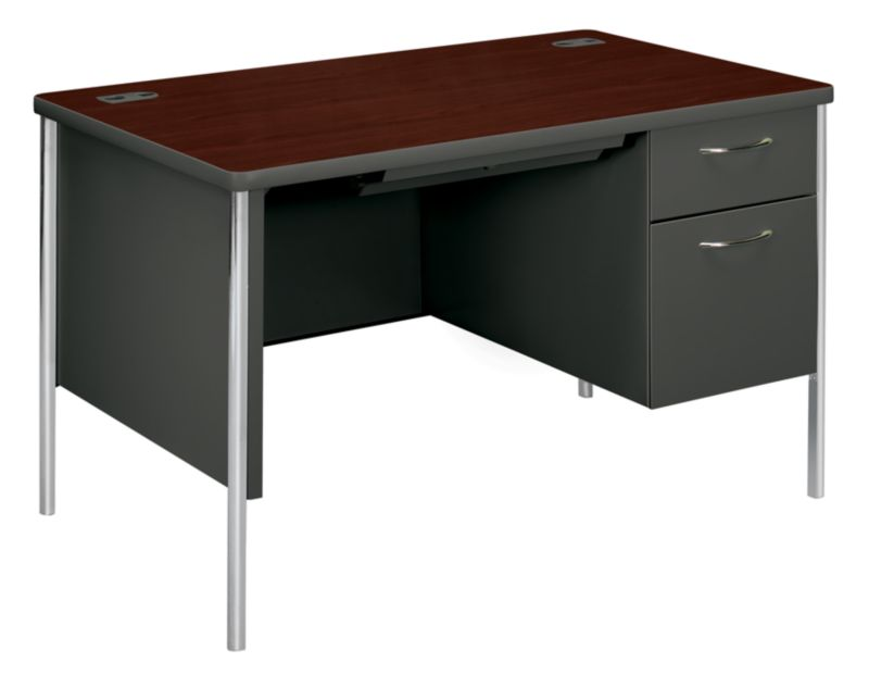 mentor series right pedestal desk h88251r hon office furniture rh hon com mentor used office furniture