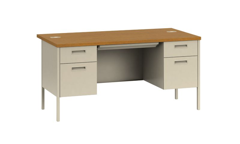 Metro Classic Double Pedestal Desk HP3262 HON Office Furniture