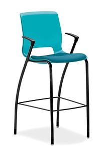 Terrific Motivate Cafe Height Stool Hmg7 Hon Office Furniture Machost Co Dining Chair Design Ideas Machostcouk