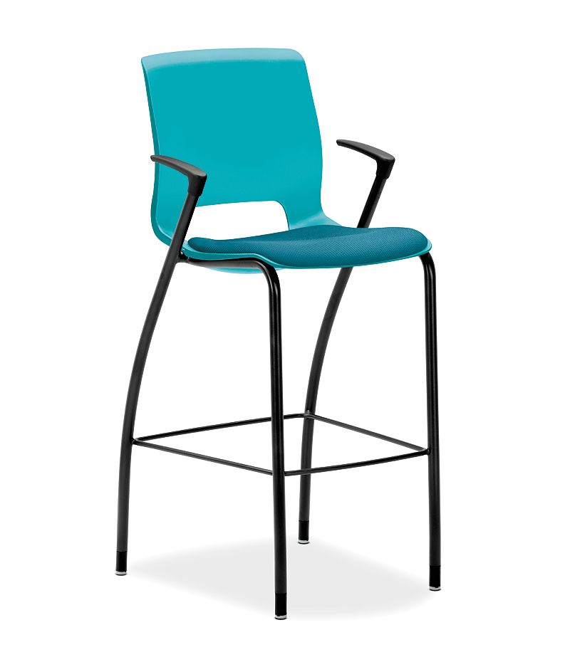 Sensational Motivate Cafe Height Stool Hmg7 Hon Office Furniture Machost Co Dining Chair Design Ideas Machostcouk