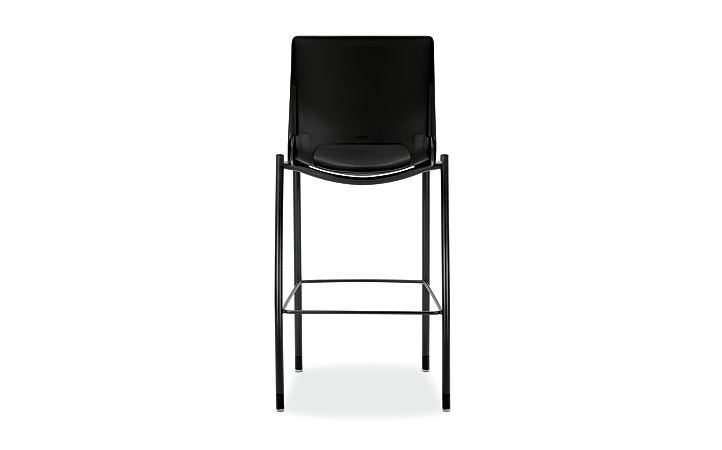 HON Motivate Cafe Height Stool Confetti Black Armless Back View HMG7.N.E.ON.AB10.BLCK