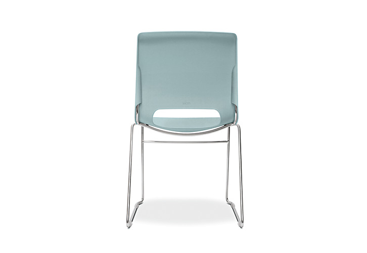 HON Motivate High-Density Stacking Chair Surf Color Back View HMS1.N.BU.Y