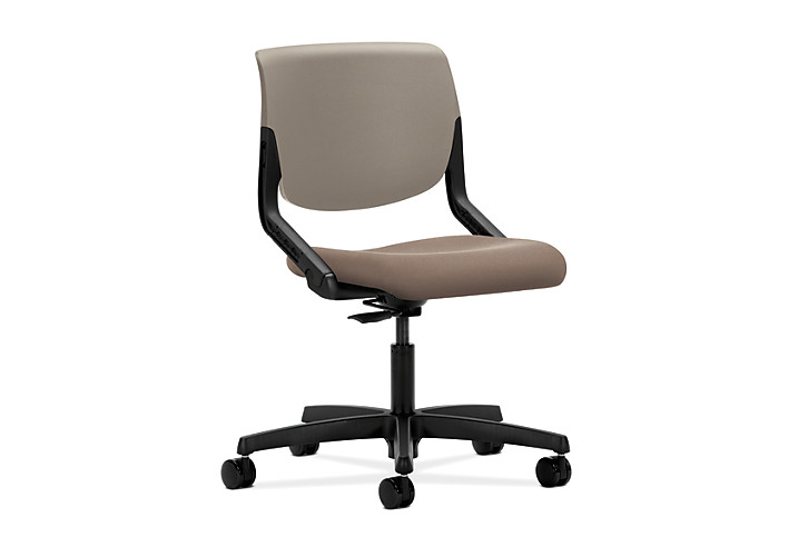 HON Motivate Task Chair Centurion Morel Flex-Back Front Side View HMT1.N.S.PS.SD.CU24.SB.T
