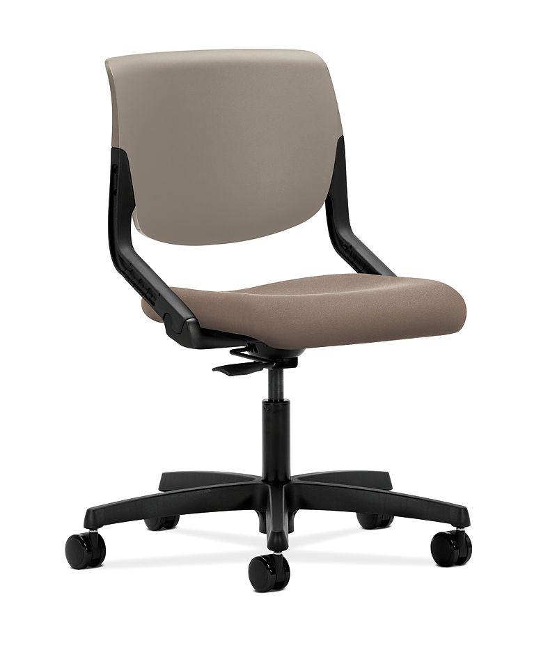 HON Motivate Task Chair Centurion Morel Flex-Back Front Side View HMT1.N.S.PS.SD.CU24.SB.T
