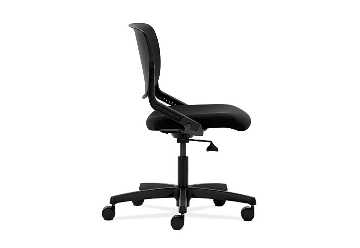 HON Motivate Task Chair Confetti Black Flex-Back Side View HMT1.N.S.PSON.AB10.SB.T