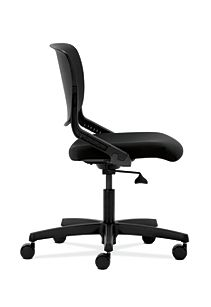 HON Motivate Task Chair Confetti Black Flex-Back Side View HMT1.N.S.PSON.AB10.SB.T