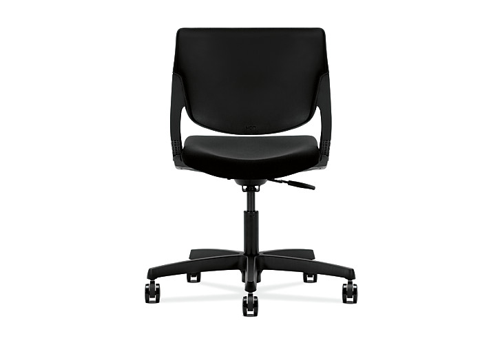 HON Motivate Task Chair Confetti Black Flex-Back Back View HMT1.N.S.PSON.AB10.SB.T