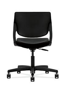 HON Motivate Task Chair Confetti Black Flex-Back Back View HMT1.N.S.PSON.AB10.SB.T