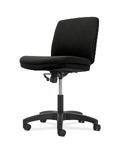 Low-Back Task Chair | Swivel-Tilt Control | Armless