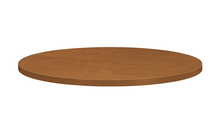 """HON Preside Round Conference 36"""" Table Top Bourbon Cherry HTLD36.GH.N.H"""