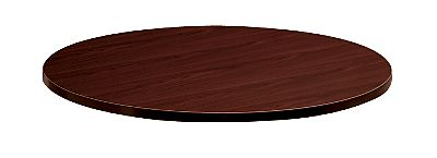 HON Preside Round Conference Table Top Mahogany HTLD42.GN.N.N